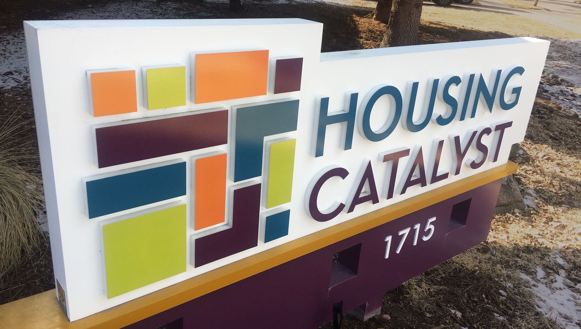 Housing Catalyst Signage design | Toolbox Creative